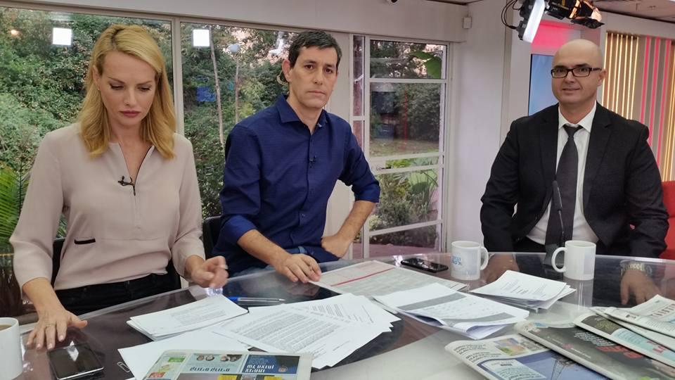 עורך דין פלילי סגרון ג'קי-הנרי מתראיין לערוץ 2 בתוכנית בוקר