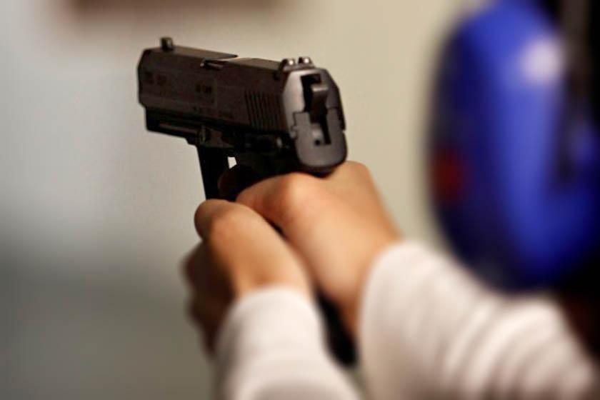 ירי אקדח