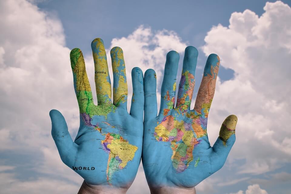 ייצוג בינלאומי, ידיים עולם