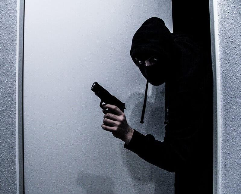 שוד עם אקדח